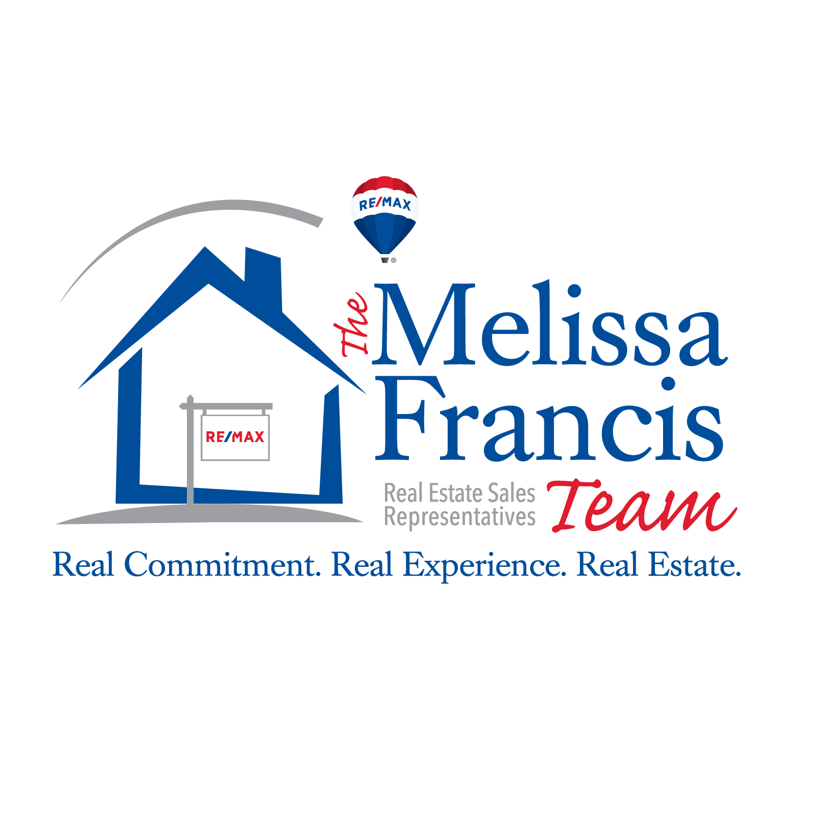 The Melissa Francis Team logo